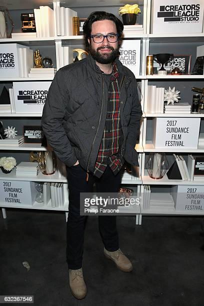 Director Brett Haley attends the 2017 Sundance Film Festival premiere of  Hero hosted at PepsiCos Creators. Creators League Studio ... 4493a23d0403
