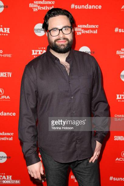 Director Brett Haley attends the Volunteer Screening Of 'Hearts Beat Loud' Premiere during the 2018 Sundance Film Festival at Park City Library on...