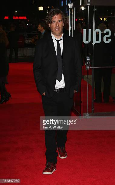 Director Brett Morgen attends the Premiere of 'Crossfire Hurricane' during the 56th BFI London Film Festival at Odeon Leicester Square on October 18...