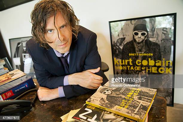 LOS ANGELES CA APRIL 24 2015 Director Brett Morgen is photographed for Los Angeles Times on April 24 2015 in Los Angeles California PUBLISHED IMAGE...