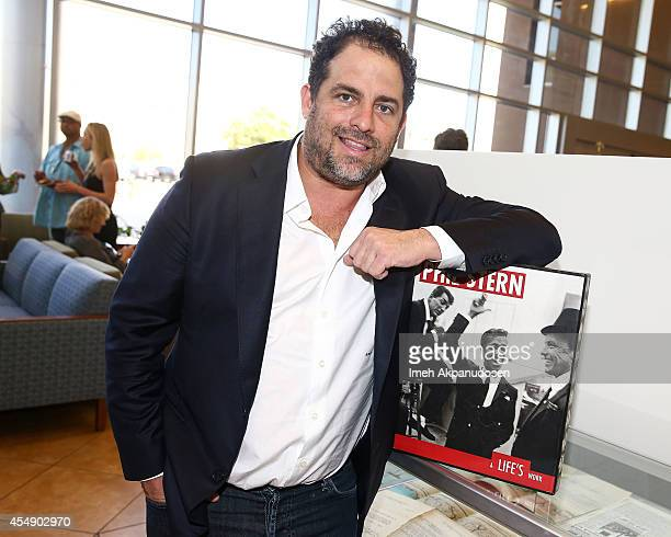 Director Brett Ratner attends photographer Phil Stern's 95th birthday celebration and photography donation to the Veterans Home West Los Angeles at...