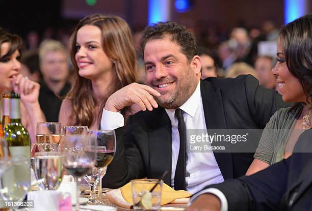 Director Brett Ratner attends the 55th Annual GRAMMY Awards PreGRAMMY Gala and Salute to Industry Icons honoring LA Reid held at The Beverly Hilton...