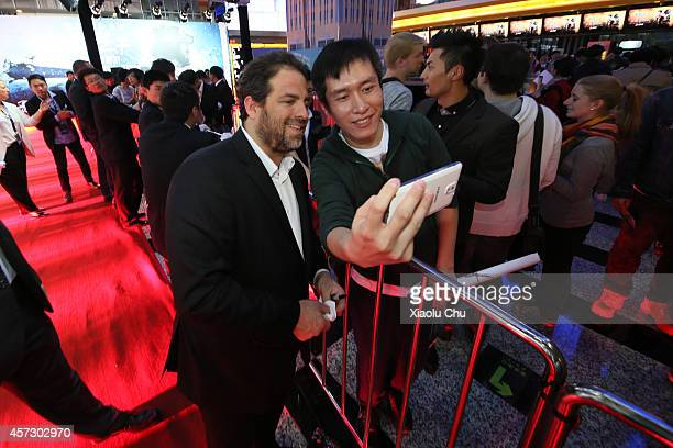 Director Brett Ratner attends the Chinese Premiere of Hercules at the Wanda CBD on October 16, 2014 in Beijing, China.