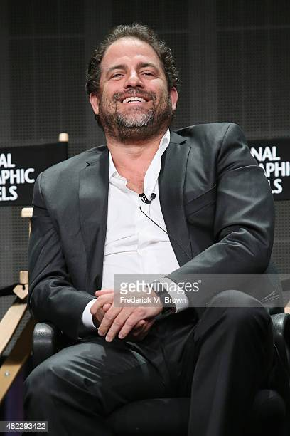 """Director Brett Ratner speaks onstage during the """"Breakthrough"""" panel discussion at the National Geographic Channel portion of the 2015 Summer TCA..."""