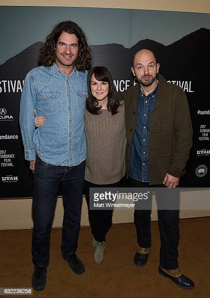 Director Brett Simon Actress Carla Gallo and Actor Paul Scheer attend the Independent Pilot Showcase during day 2 of the 2017 Sundance Film Festival...