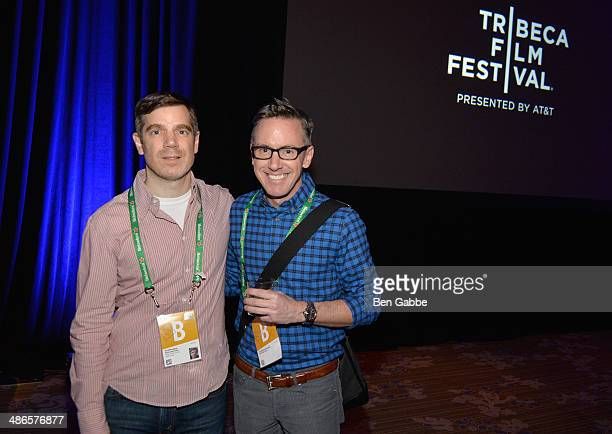 Director Brian Bolster and executive producer Tom Harrington of One Year Lease attend the TFF Awards Night during the 2014 Tribeca Film Festival at...