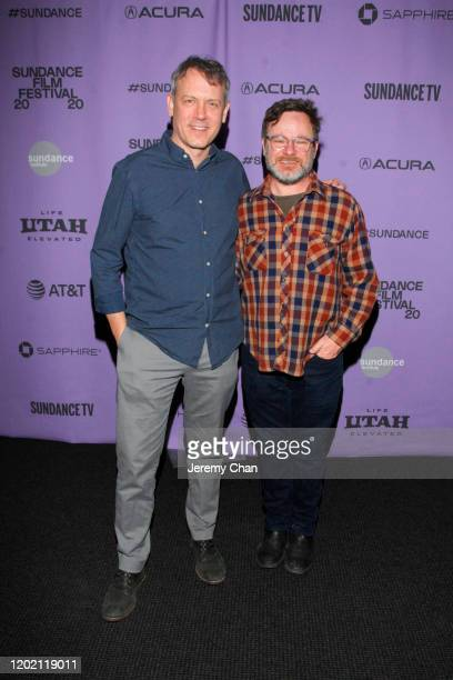 Director Brian Knappenberger and Sundance Programer Mike Plante attend the 2020 Sundance Film Festival Documentary Shorts Program 2 at Temple Theater...
