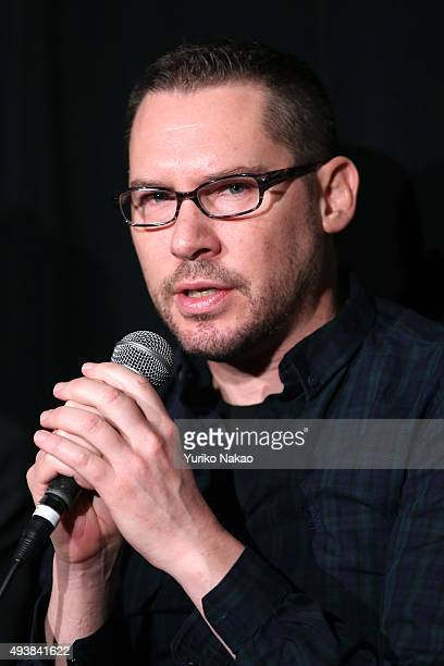 Director Brian Singer attends the Jury Press Conference during the Tokyo International Film Festival 2015 at Roppongi Hills on October 23 2015 in...