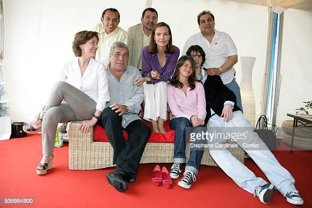 Director Brigitte Rouan Carlos Gasca Alvaro Nnalos Alejandro Pineros JeanPierre Castaldi Carole Bouquet Ferdinand Chesnais and Julia Dussolier attend...