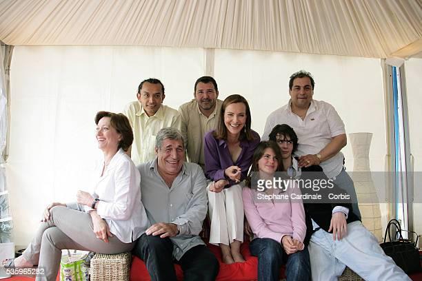 Director Brigitte Rouan, Carlos Gasca, Alvaro Nnalos, Alejandro Pineros, Jean-Pierre Castaldi, Carole Bouquet, Ferdinand Chesnais and Julia Dussolier...