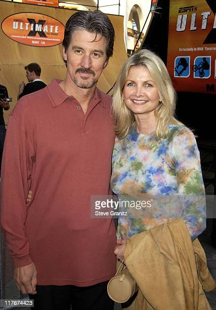 "Director Bruce Hendricks & wife Christine during ""ESPN'S Ultimate X"" Movie Premiere at Universal City Walk in Universal City, California, United..."