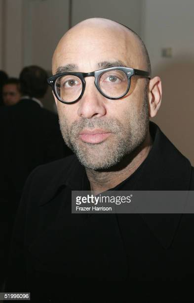 Director Bruce Wagner attends the opening of Richard Meiers art exhibition at the Gagosian Gallery on January 14 2005 in Beverly Hills California