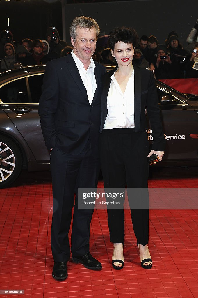 Director Bruno Dumont and actress Juliette Binoche attend the 'Camille Claudel 1915' Premiere during the 63rd Berlinale International Film Festival at Berlinale Palast on February 12, 2013 in Berlin, Germany.