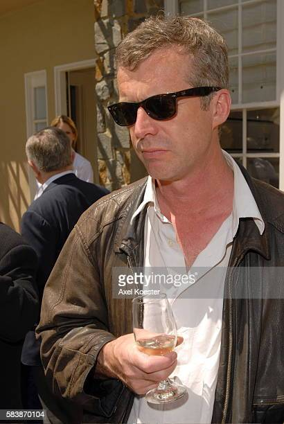 Director Bruno Dumont attends a luncheon at the French Consul General's Residence during the 11th Annual City of Lights City of Angels French Film...