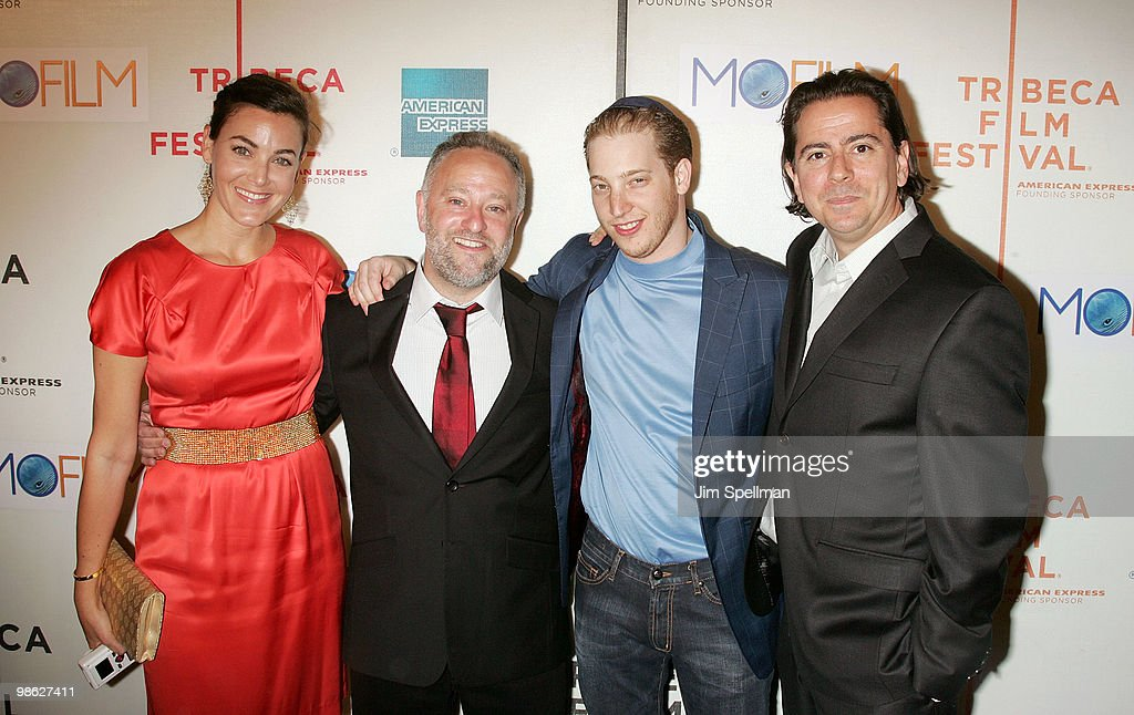 Director Bryan Goluboff (2nd from left), Producers Israel Wolfson and Craig Cohen attend the premiere of 'Beware The Gonzo' during the 9th annual Tribeca Film Festival at the Tribeca Performing Arts Center on April 22, 2010 in New York City.