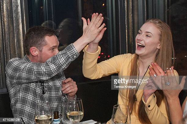 Director Bryan Singer and Actress Sophie Turner attend The Evening Before a preWhite House Correspondents' Dinner party hosted by Eric Podwall and...