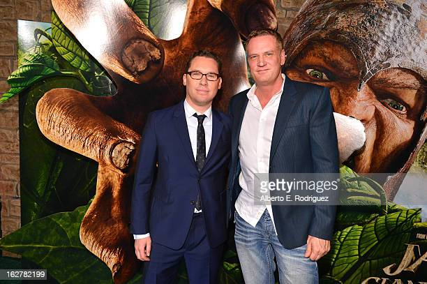 Director Bryan Singer and Composer John Ottman attend the premiere of New Line Cinema's Jack The Giant Slayer at TCL Chinese Theatre on February 26...