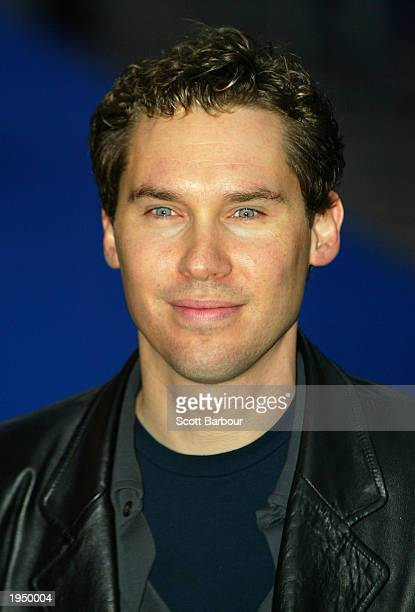 Director Bryan Singer arrives at the world premiere of 'XMen 2' at the Odeon Leicester Square April 24 2003 London