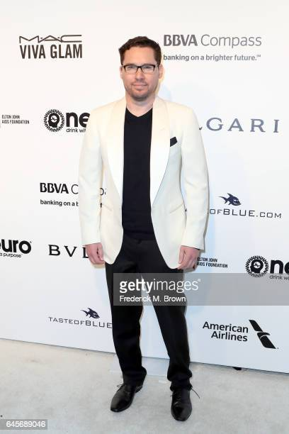 Director Bryan Singer attends the 25th Annual Elton John AIDS Foundation's Academy Awards Viewing Party at The City of West Hollywood Park on...