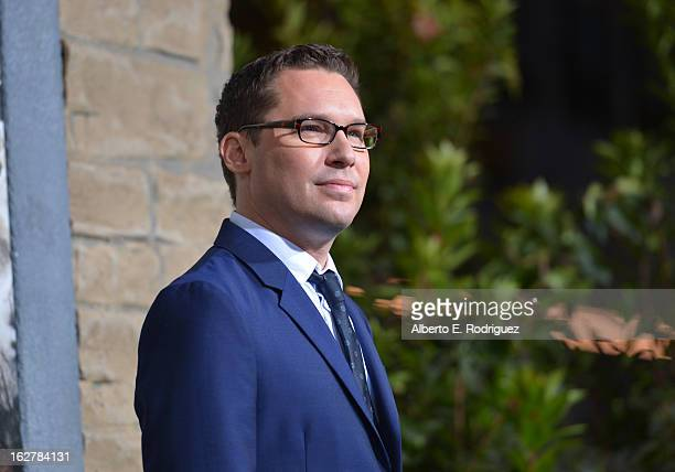 Director Bryan Singer attends the premiere of New Line Cinema's Jack The Giant Slayer at TCL Chinese Theatre on February 26 2013 in Hollywood...