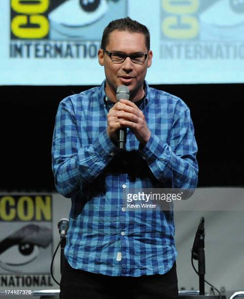 Director Bryan Singer speaks at the 20th Century Fox XMen Days of Future Past panel during ComicCon International 2013 at San Diego Convention Center...