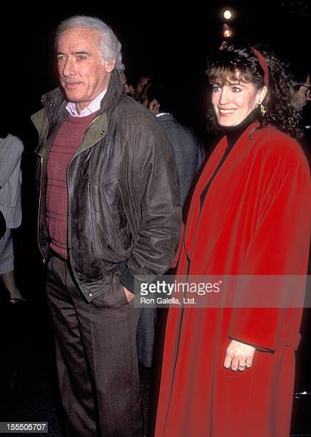 Director Bud Yorkin and actress Cynthia Sikes attend the Mountains of the Moon West Hollywood Premiere on February 14 1990 at DGA Theatre in West...