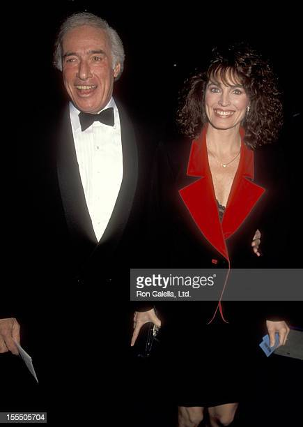 Director Bud Yorkin and actress Cynthia Sikes attend The Russia House Universal City Premiere on December 4 1990 at Cineplex Odeon Universal City...