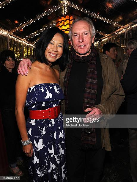 Director Camille Chen and director Peter Weir attend the Australian Gala Reception at the Viceroy Hotel during the 22nd Annual Palm Springs...