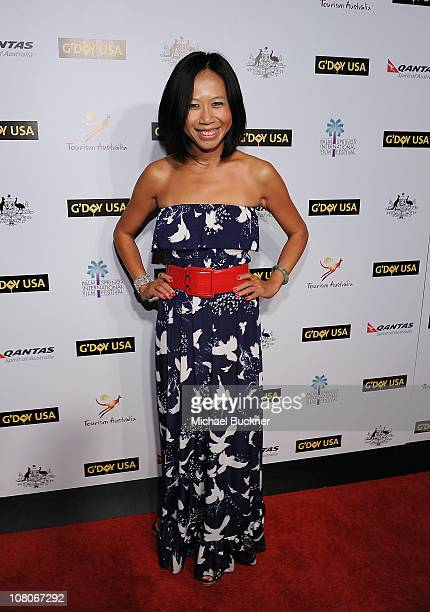 Director Camille Chen attends the Australian Gala Reception at the Viceroy Hotel during the 22nd Annual Palm Springs International Film Festival on...