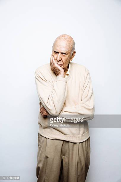 Director Carl Reiner is photographed for Emmy Magazine on October 7 2015 in Beverly Hills California
