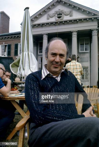 Director Carl Reiner on the set of the movie Where's Poppa in May, 1970 in Long Island, New York.
