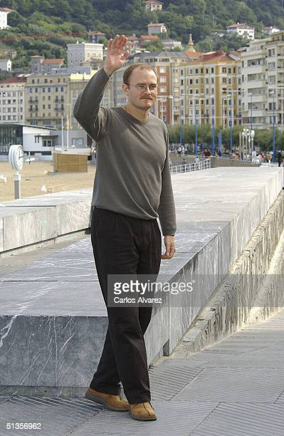 """Director Carlo Gabriel Nero attends the photo call for his movie """"The Fever"""" on the ninth day of the 52nd San Sebastian International Film Festival..."""