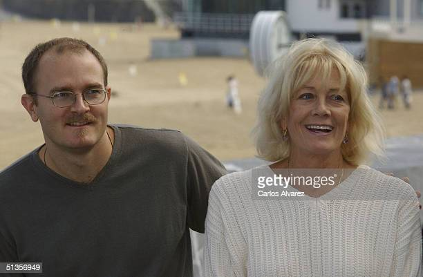 Director Carlo Gabriel Nero poses with his mother actress Vanessa Redgrave at the photo call for their movie 'The Fever' on the ninth day of the 52nd...