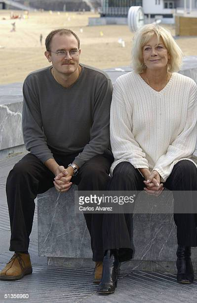 Director Carlo Gabriel Nero poses with his mother actress Vanessa Redgrave at the photo call for their movie The Fever on the ninth day of the 52nd...