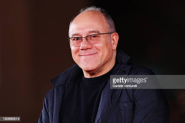 Director Carlo Verdone attends the 11 Metri Premiere during the 6th International Rome Film Festival at Auditorium Parco Della Musica on October 31...