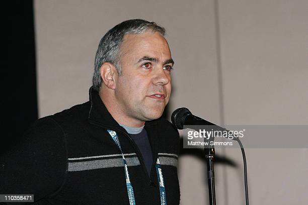 Director Carlos Brooks attends a screening of Quid Pro Quo at the Library Theatre during the 2008 Sundance Film Festival on January 20 2008 in Park...