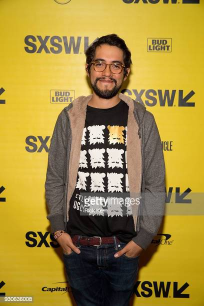 Director Carlos Lopez Estrada attends the premiere of 'Blindspotting' during the 2018 SXSW Film Festival at The Paramount Theatre on March 11 2018 in...