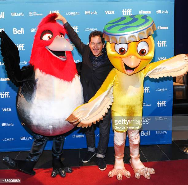 """Director Carlos Saldanha to introduce """"Rio 2"""" as opening film of 2014 TIFF Kids Film Festival at the TIFF Bell Lightbox on April 10, 2014 in Toronto,..."""