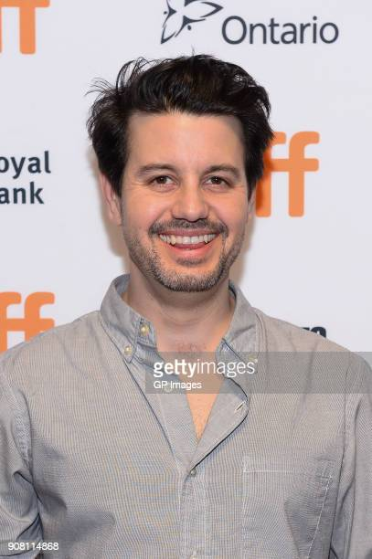 Director Carlos Sanchez attends the TIFF presents 'In Conversation With Evan Rachel Wood' at TIFF Bell Lightbox on January 20 2018 in Toronto Canada