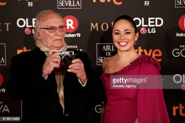 Director Carlos Saura attends the 32th edition of the Goya Awards ceremony in Madrid Spain on February 04 2018