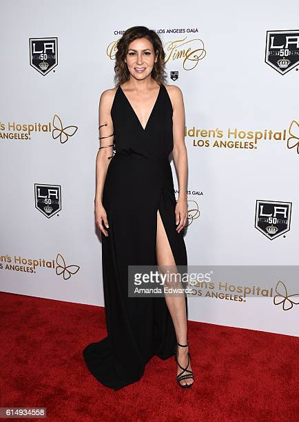 Director Carmen Marron arrives at the 2016 Children's Hospital Los Angeles Once Upon a Time Gala at the LA Live Event Deck on October 15 2016 in Los...