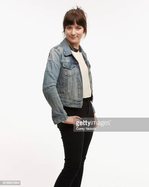 Director Carol Brandt from the film 'Pet Names' poses for a portrait in the Getty Images Portrait Studio Powered by Pizza Hut at the 2018 SXSW Film...