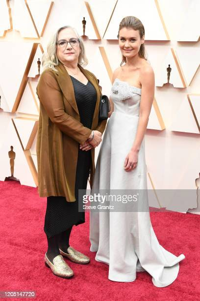 Director Carol Dysinger and director Elena Andreicheva attend the 92nd Annual Academy Awards at Hollywood and Highland on February 09 2020 in...