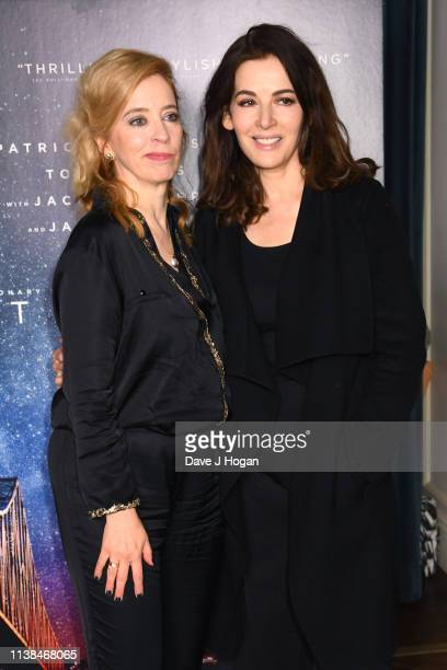 Director Carol Morley and Nigella Lawson attend the Out of Blue preview screening at Picturehouse Central on March 26 2019 in London England