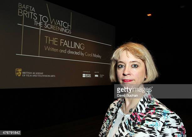 """Director Carol Morley attends BAFTA LA Brits To Watch Screening of her film """"The Falling"""" at The London Hotel on June 11, 2015 in West Hollywood,..."""