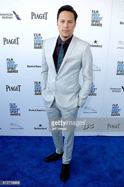 Director Cary Fukunaga attends the 2016 Film Independent Spirit Awards on February 27 2016 in Santa Monica California
