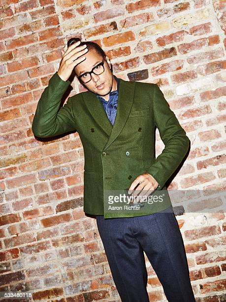 Director Cary Fukunaga is photographed for Esquire Magazine in 2014 in New York City