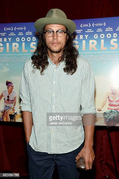 Director Cary Joji Fukunaga attends the Very Good Girls premiere at the Tribeca Grand Hotel on July 21 2014 in New York City