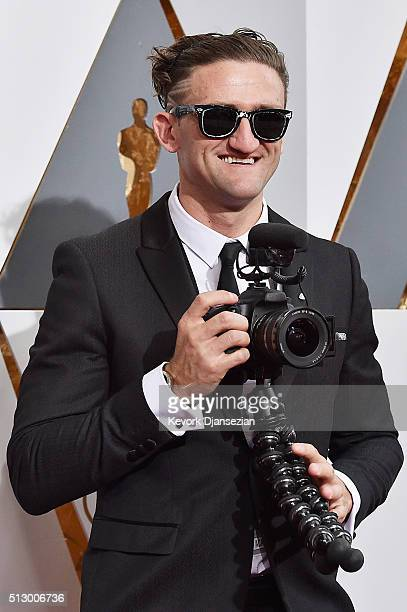 Director Casey Neistat attends the 88th Annual Academy Awards at Hollywood & Highland Center on February 28, 2016 in Hollywood, California.