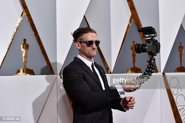 Director Casey Neistat attends the 88th Annual Academy Awards at Hollywood Highland Center on February 28 2016 in Hollywood California